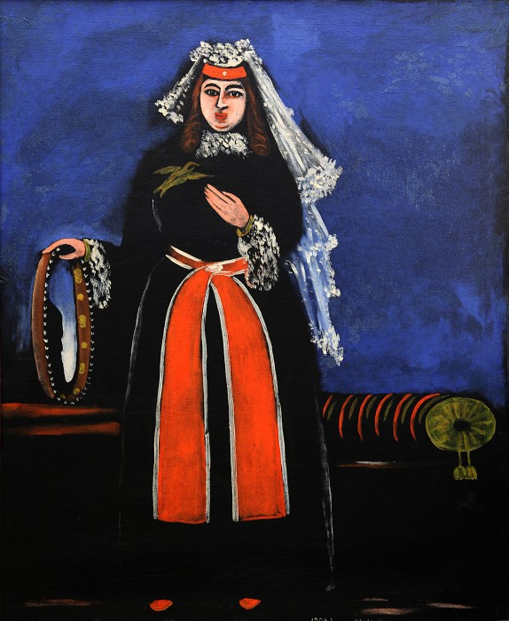 Georgian woman - Niko Pirosmani