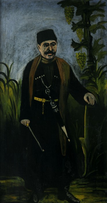 Portrait of a wealthy peasant - Niko Pirosmani