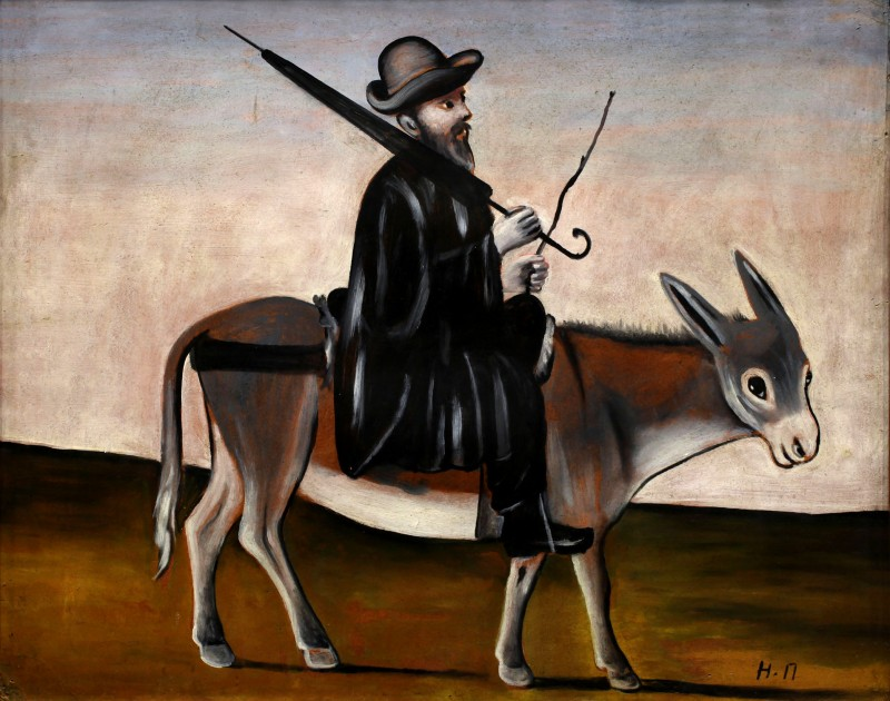Healer on the donkey - Niko Pirosmani